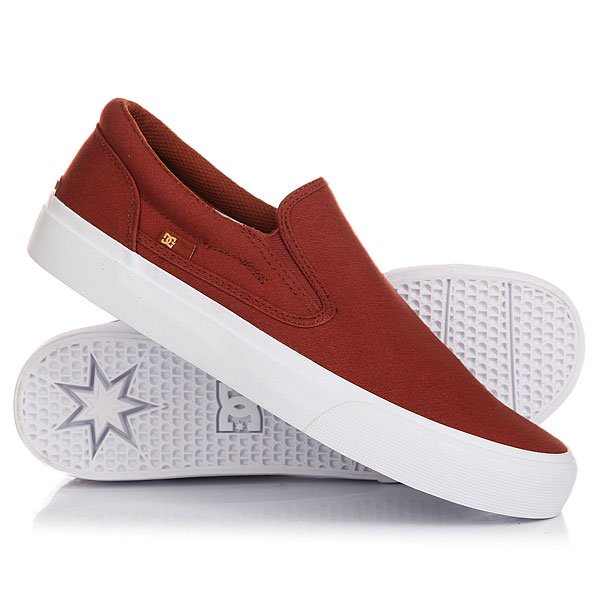 Слипоны DC Trase Slip-on TX Henna/White