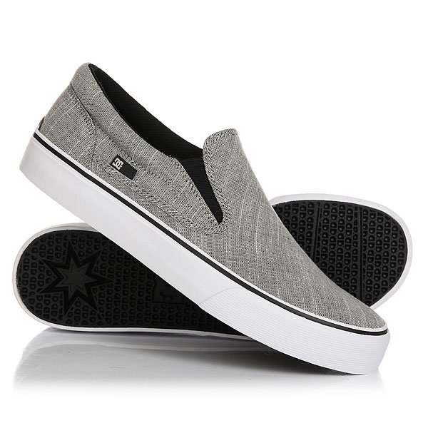 Слипоны DC Trase Slip-on TX SE Charcoal Grey