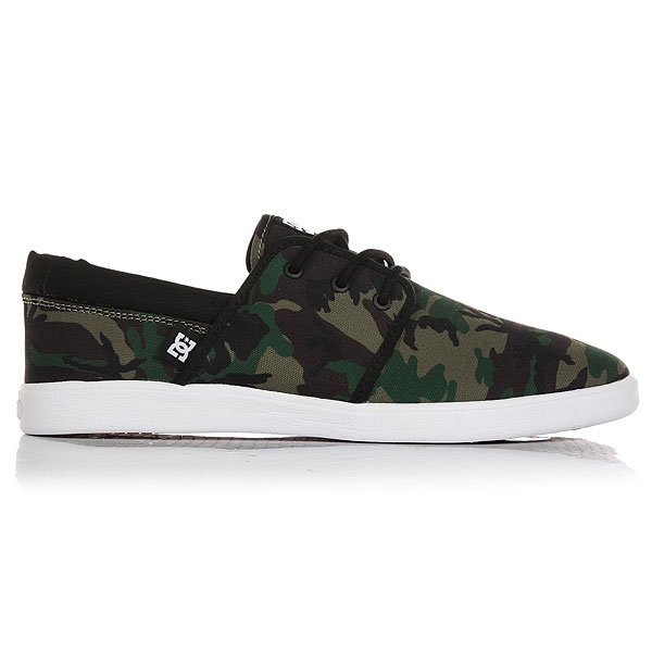 Кеды низкие DC Haven Sp Black Camo