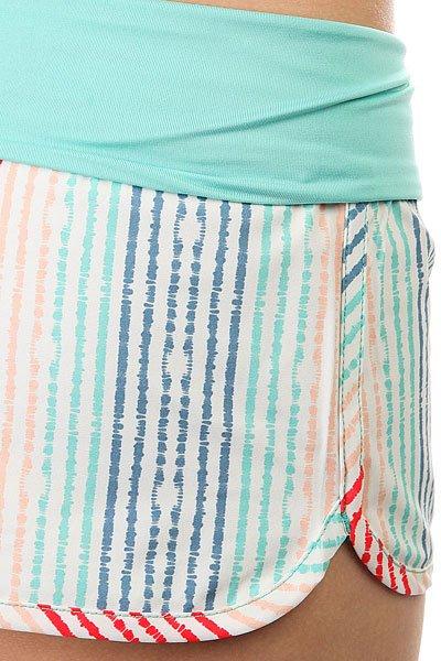 Шорты пляжные женские Roxy Endless Sum Pt Olmeque Stripe Combo
