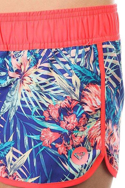Шорты пляжные женские Roxy Love Royal Blue Beyond Lo