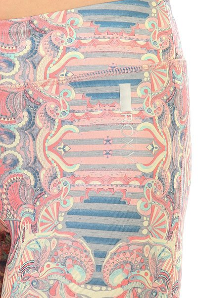 Леггинсы женские Roxy Imanee Printedp Heritage Heather Pla