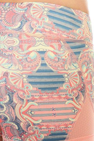 Шорты классические женские Roxy Imanee Printed Heritage Heather Pla