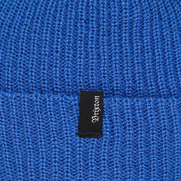 Шапка Brixton Heist Beanie Electric Blue