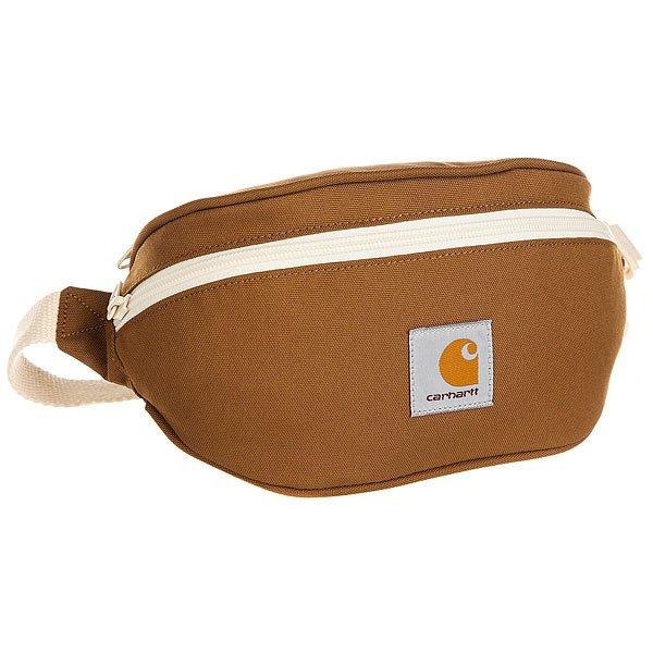 Сумка поясная Carhartt WIP Wip Watch Hip Bag Hamilton Brown