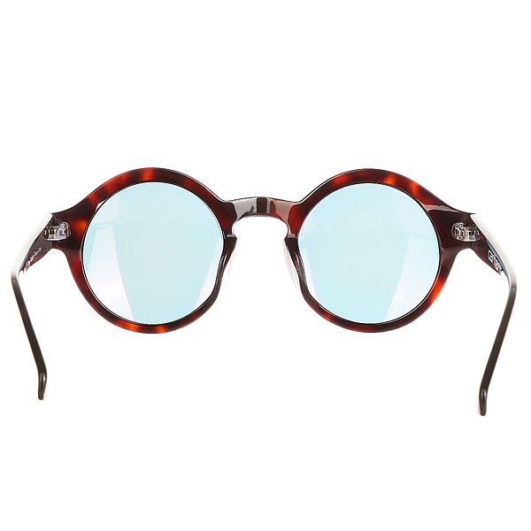 Очки женские Carhartt WIP Wip Fox Sunglasses Tortoise Shell/Pink Mirrored Lenses