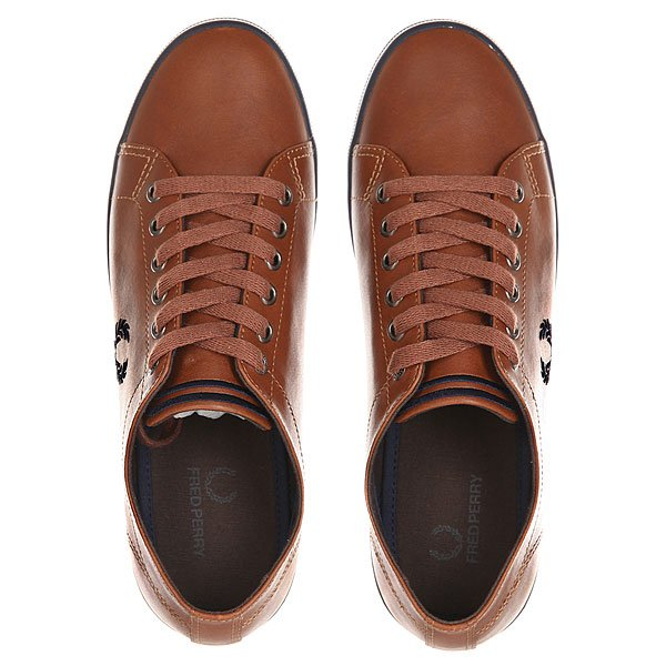 Кеды низкие Fred Perry Kingston Leather Tan