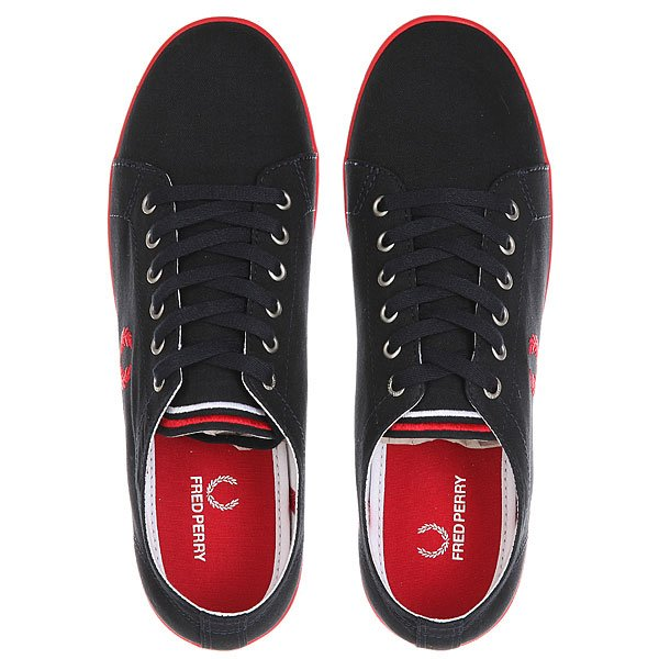 Кеды низкие Fred Perry Kingston Twill Black