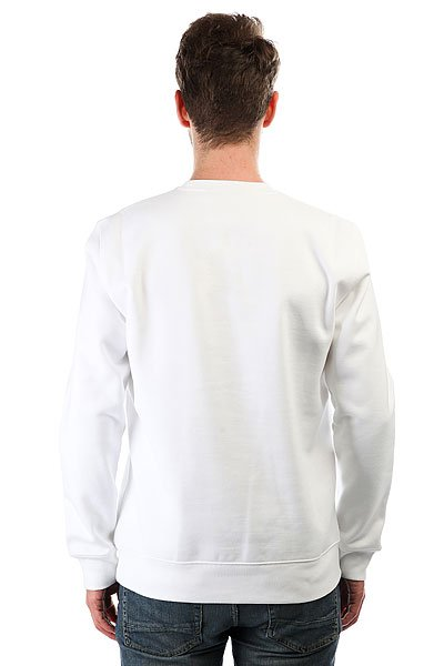 Толстовка классическая Carhartt WIP Sporty Sweatshirt White/Chili