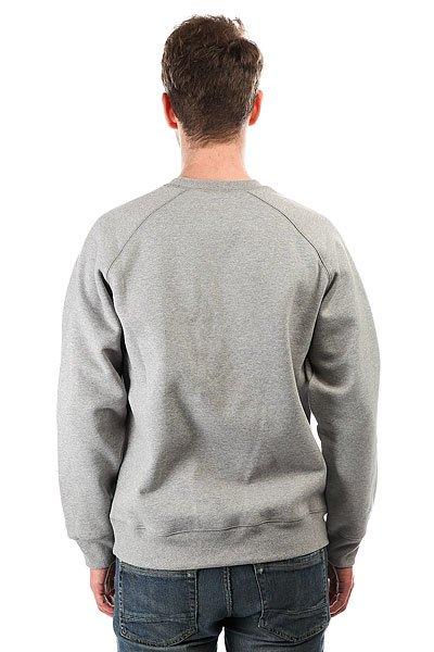 Толстовка свитшот Carhartt WIP Chase Sweatshirt Grey Heather