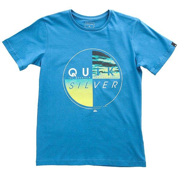 Футболка детская Quiksilver Sscltyoutblazed Vallarta Blue
