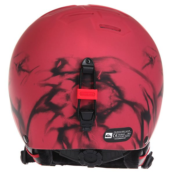 Шлем для сноуборда Quiksilver Skylab Highdye Red