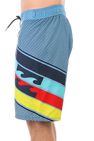 Шорты пляжные Billabong Slice Layback 20 Light Steel