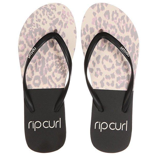 Вьетнамки женские Rip Curl Animalia Black/Light Pink