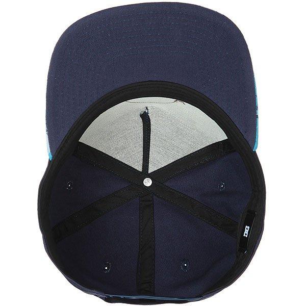 Бейсболка с прямым козырьком DC Geosense Blue Geo Rusto