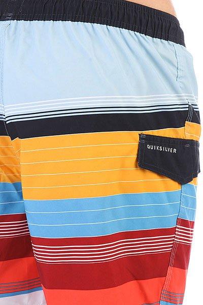 Шорты пляжные Quiksilver Swellvoll17 Nasturticm