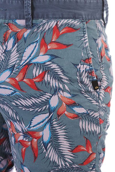 Шорты классические Quiksilver Paradisepointsh Indian Teal