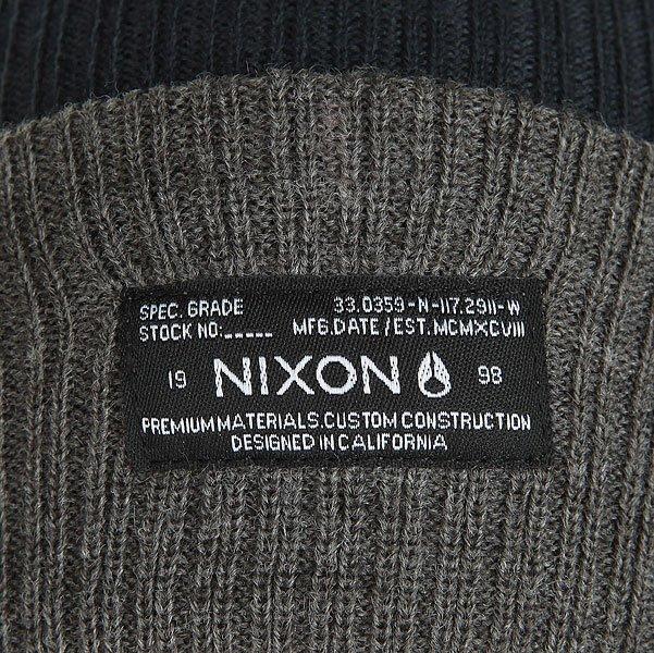 Шапка Nixon Relic Beanie Navy/Gray