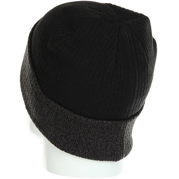 Шапка Nixon Relic Beanie Black/Heather Gray