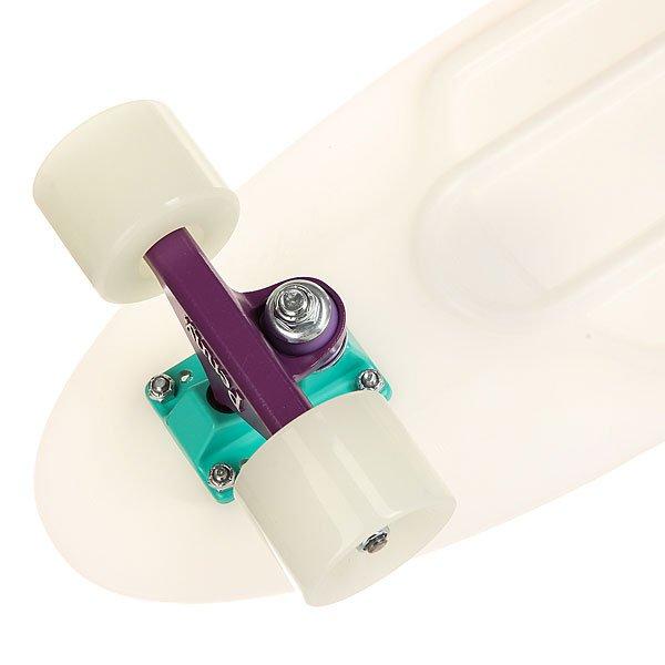 Скейт мини круизер Penny Nickel 27 Glow Galactic Glow - Purple/Aqua 7.5 x 27 (69 см)