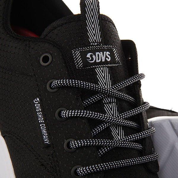 Кроссовки DVS Premier 2.0+ Black White Mesh