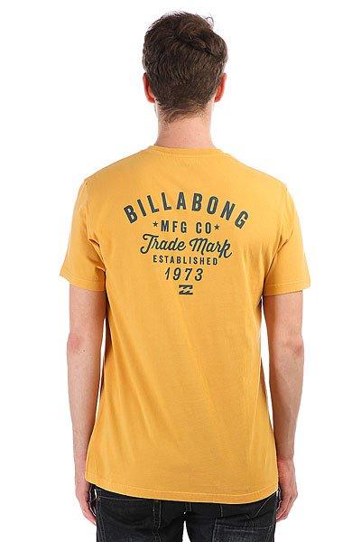 Футболка Billabong Wagoner Bright Gold