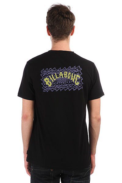 Футболка Billabong Haze Black/Purple