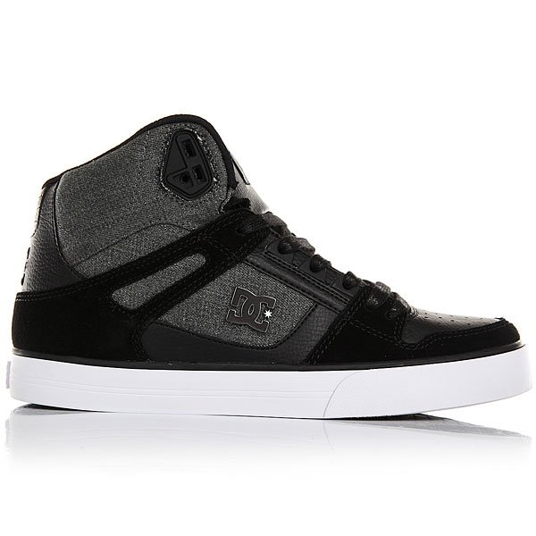 Кеды высокие DC Spartan High Wc Black Used