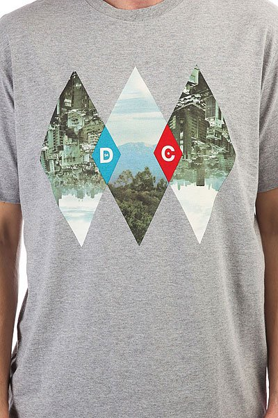 Майка DC Breathe Grey Heather