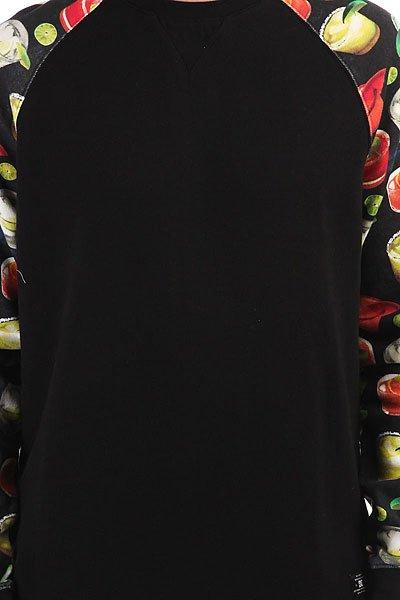 Толстовка свитшот DC Litchfield Black Cocktail Print