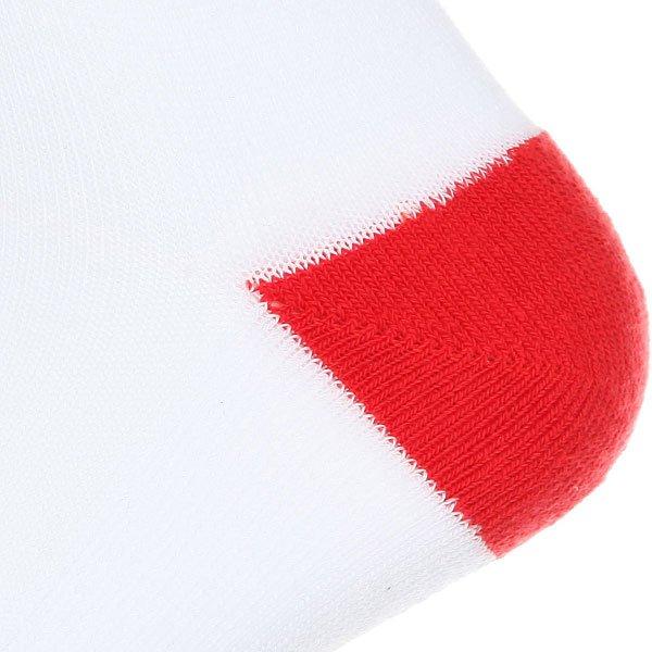 Носки средние Запорожец Спорт Полосы Белый/Красный