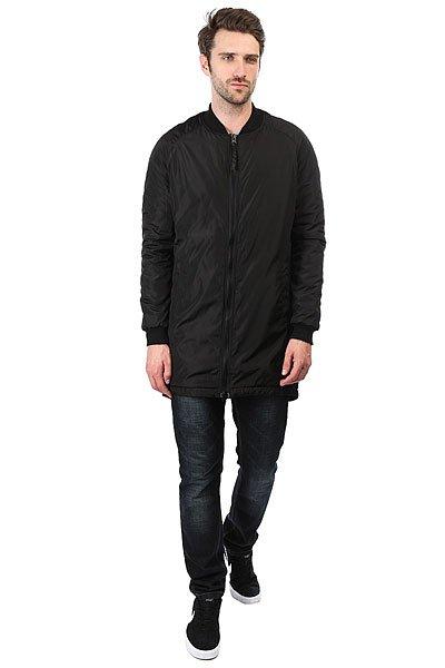 Куртка НИИ Long N Bomber Черная