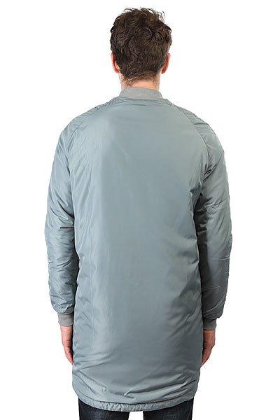 Куртка НИИ Long N Bomber Серая