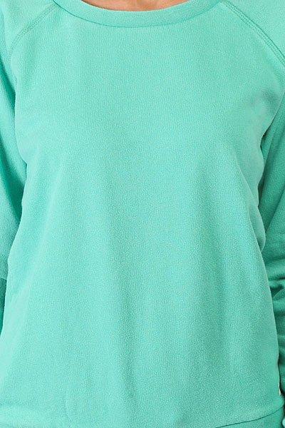 Толстовка классическая женская Billabong Essential Cr Island Green