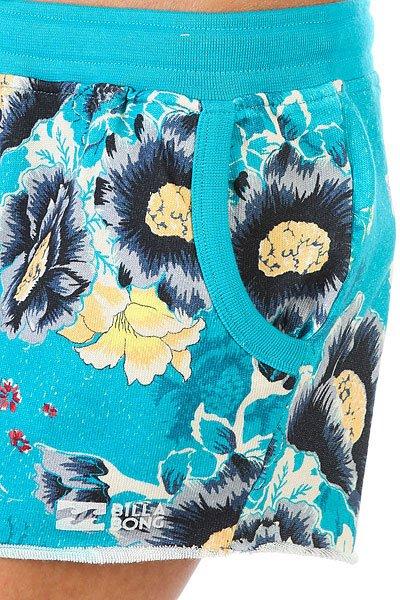 Шорты классические женские Billabong Dream About Costa Blue