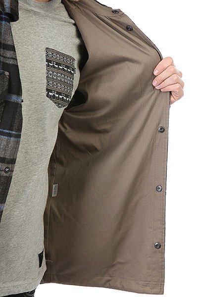 Рубашка утепленная Anteater Shirt-check Black/Grey