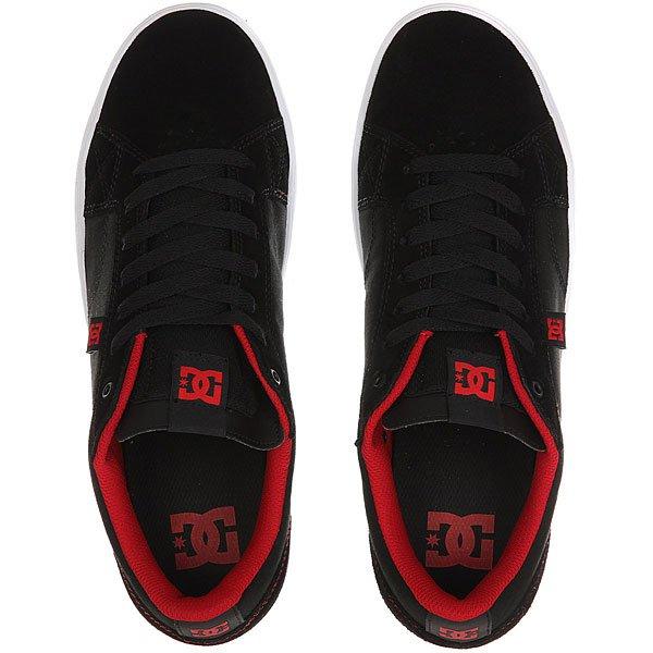 Кеды низкие DC Astor Black/Red