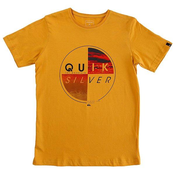 Футболка детская Quiksilver Sscltyoutblazed Golden Glow