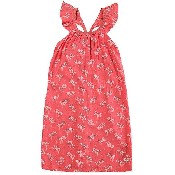 Платье детское Roxy Farfromu Sugar Coral Palm Tin