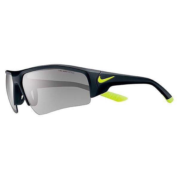 Очки Skylon Ace Xv Pro, Matte Black/Volt (линзы - Grey W/Silver Flash Lens)