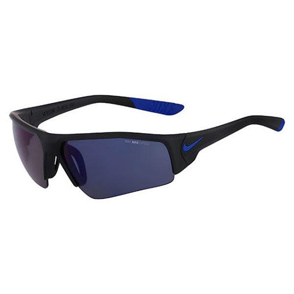 Очки Skylon Ace Xv Pro R, Matte Black/Game Royal (линзы - Grey W/Blue Night Flash Lens)