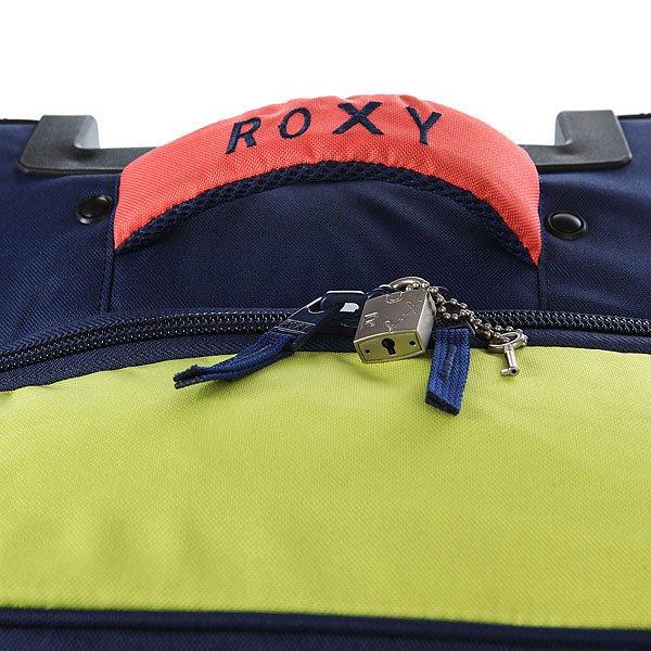 Сумка дорожная женская Roxy In The Cloudss Blue Print