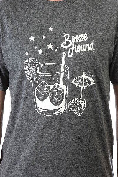 Футболка DC Booze Hound Charcoal Heather