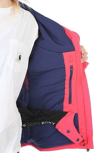 Куртка утепленная женская Roxy Tracer Paradise Pink