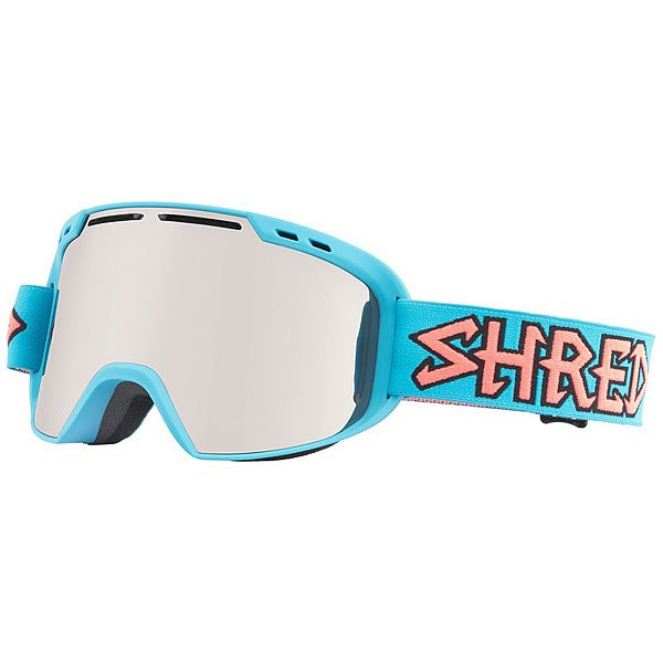 Маска для сноуборда Shred Amazify Air Blue - Platinum Blue