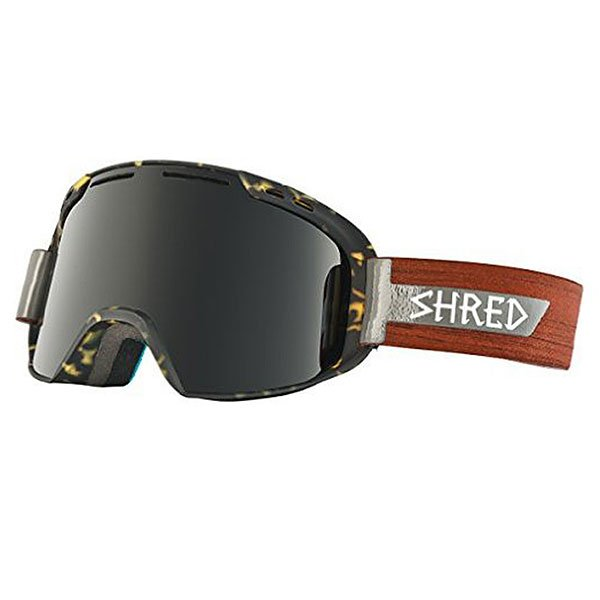 Маска для сноуборда Shred Amazify Shnerdwood Cbl/Blast Tortoise/Wood
