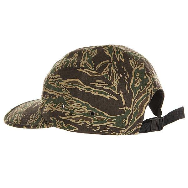 Бейсболка пятипанелька Carhartt WIP Wip Military Cap Camo Tiger Laurel