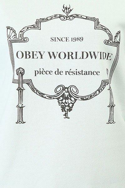 Толстовка классическая женская Obey Obey Resistance Seafoam Green