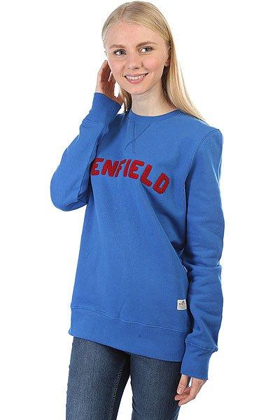 Толстовка свитшот женская Penfield Brookport Sweat Blue