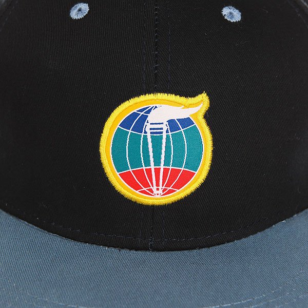 Бейсболка с прямым козырьком Запорожец Fakel Navy